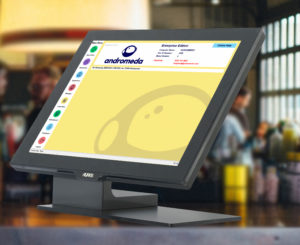 Andromeda POS in a restaurant