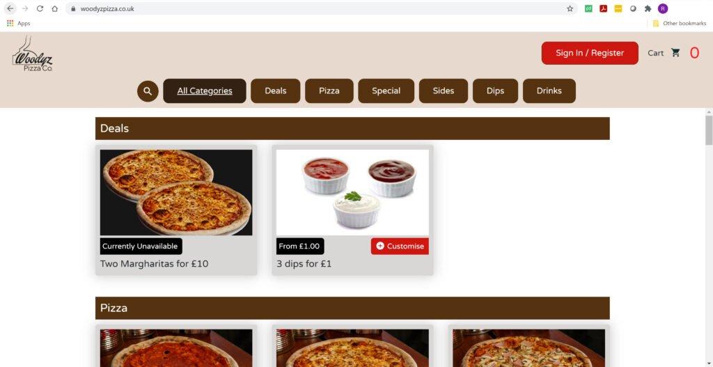 woodyzpizza.co.uk
