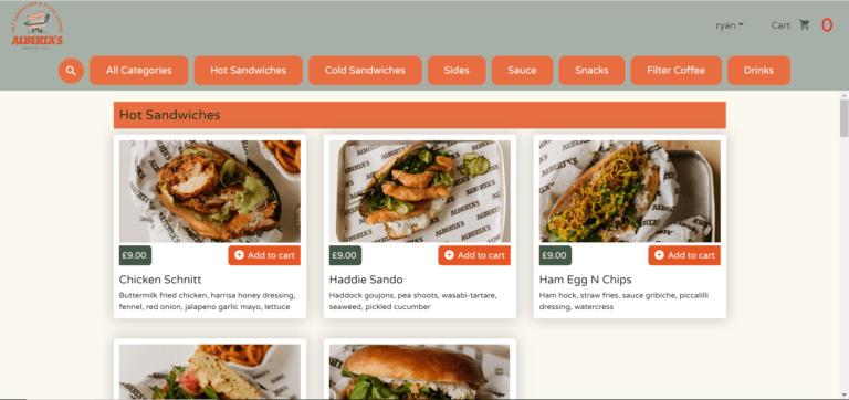 Online ordering platform6