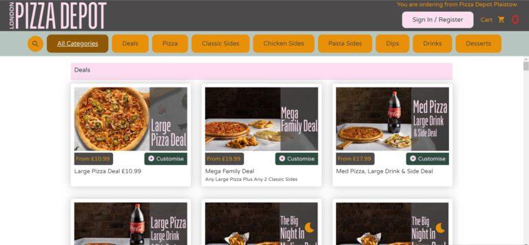 Online Ordering Website4