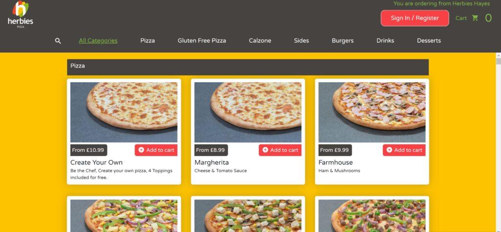 Online ordering platform4