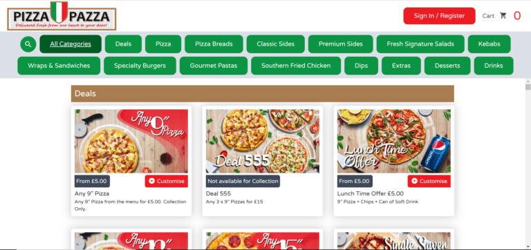 Online Ordering Website6