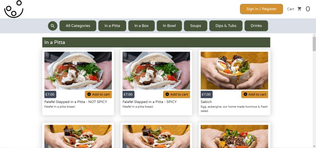 Online ordering platform5